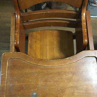 子供用木製椅子