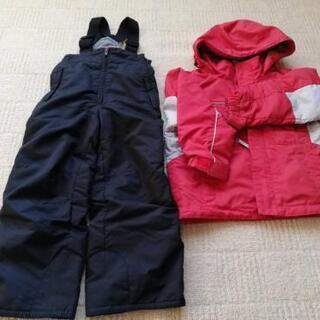 赤✕黒 120 スキーウエア