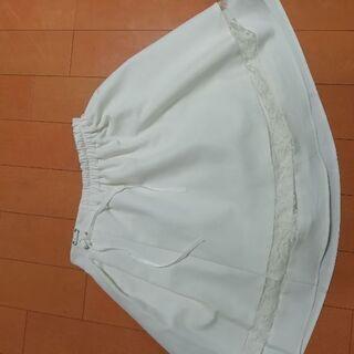 白スカート美品