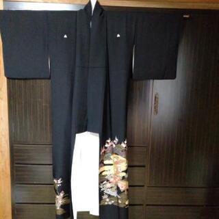 黒留め袖 東京さが美 着物