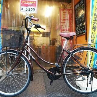 ☆整備済リサイクル自転車 26インチ ママチャリ 6段変速♪税込!