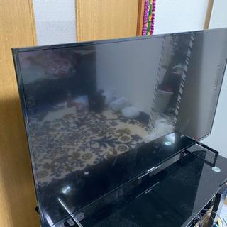 中古液晶テレビFUNAI 49V型 同時録画4K 2017年式