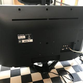 【リサイクルサービス八光 田上店 安心の3か月保証 配達・設置OK】フナイ 32V型 液晶テレビ ハイビジョン ダブルチューナー 500GB HDD内蔵(裏番組録画対応) FL-32H2010 地上・BS・110度CSデジタル - 家電