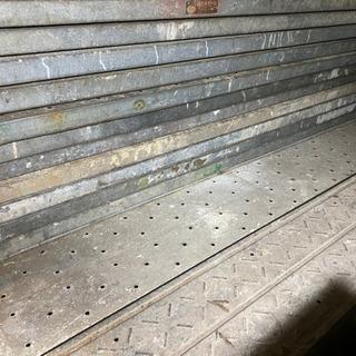 足場板 スチール 鋼板製 お届けあり