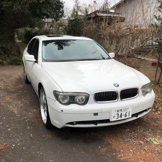 希少左ハンドル BMW7シリーズe65  745i  車検まだま...