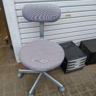 チェアー、事務椅子 グレー