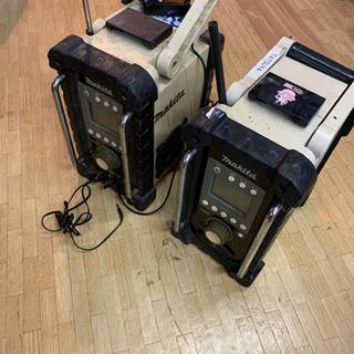 マキタ♪ラジオ♪ジャンク品♪2台セット♪