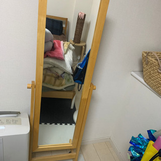 ニトリ の全身鏡 2月末まで値下げ!