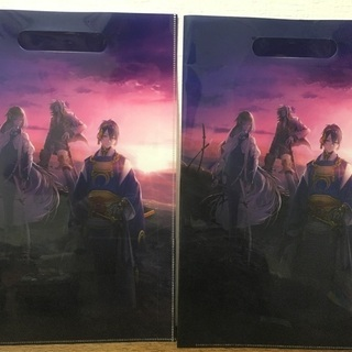 【非売品】刀剣乱舞クリアファイル2016TOKYOGAMESHOW