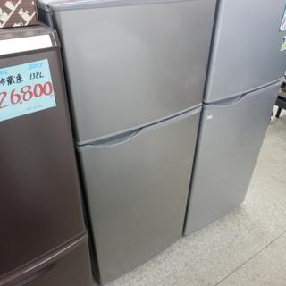冷蔵庫 118L 2018年製 2ドア シャープ SJ-H12D...