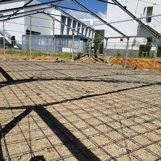 農業用施設建築アルバイト