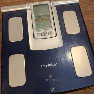 OMRON 体重計 KaradaScan