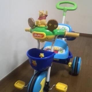 くまのプーさんかじとりトーク三輪車2