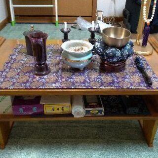 仏壇の前に置く台 その2