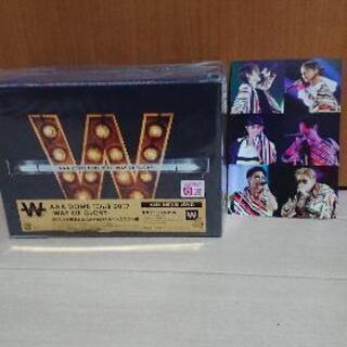 【91】AAA -WAY OF GLORY-(初回限定 2DVD...