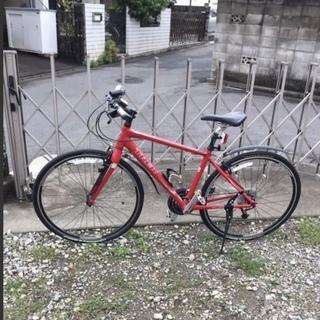 クロスバイク ほぼ新品