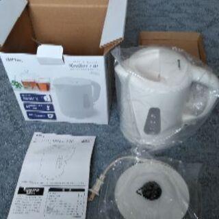 新品未使用品、ドリテック、電気ケトル[ルイボス]  1.0L、元箱つき