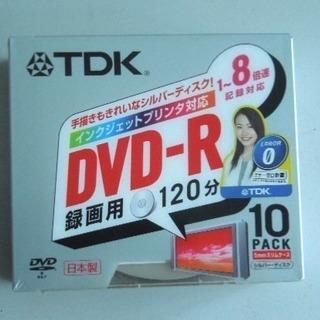 TDK DVD-R 録画用 120分・10枚(未開封)