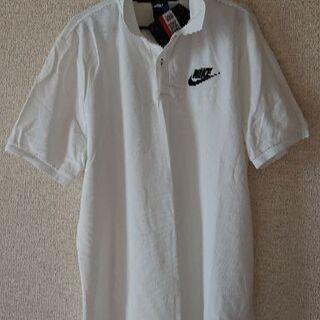 Nike  White ナイキのポロシャツです。Lではないですね!