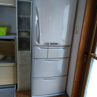 2001年製三菱冷蔵庫455L