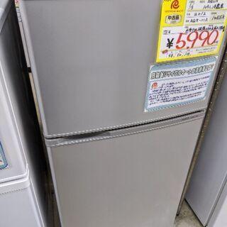 0124-04 難有 2012年製 AQUA 109L 冷蔵庫 ...