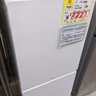 0124-05 2012年製 モリタ 110L 冷蔵庫 福岡糸島唐津