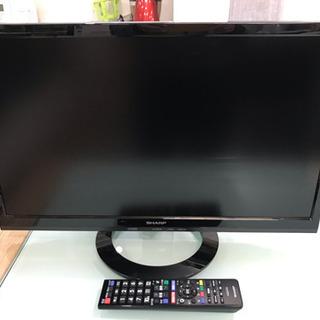シャープ アクオス 液晶テレビ 22型 2015年製 中古