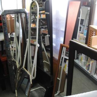 リサイクル ミラー 姿見 鏡台 多数 壁掛け 置型 スタンドミラー