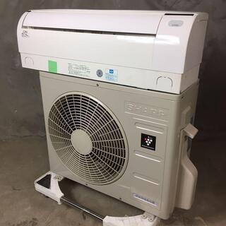 22【送料、取り付け費用込み🐢】SHARP 6畳用エアコン AC...