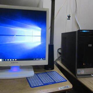 (至急) HPデスクトップPC  19インチモニターセット