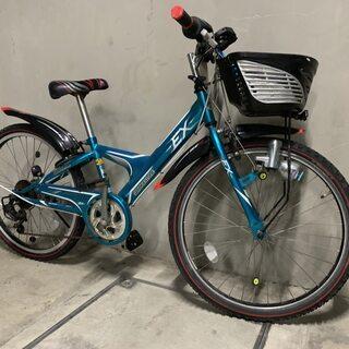 ブリジストン ジュニアサイクル 24インチ 6段 自転車