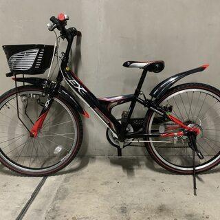 ブリジストン ジュニアサイクル 24インチ 6段変速 自転車