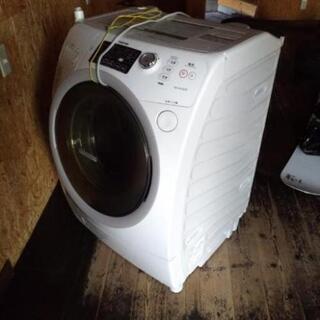 2500円 値下げ 東芝 ドラム式洗濯機 洗濯9kg 乾燥6kg...