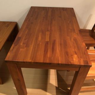 スキャンティークダイニングテーブルセット