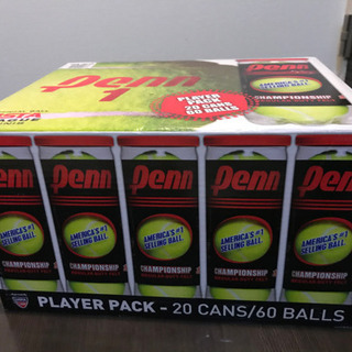USTA公認テニスボール 20缶60個入り
