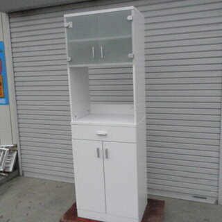 アイリスオオヤマ 食器棚ワークトップ FRO-1860W 美品 ...
