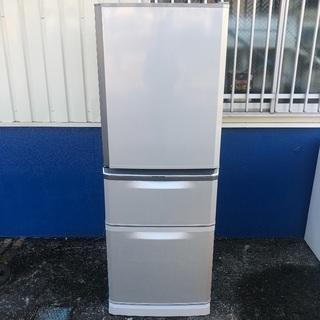三菱 335L 冷蔵庫 MR-C34R