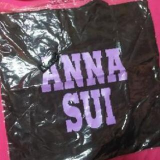 ANNA SUI薄手トートバッグ(エコバック)