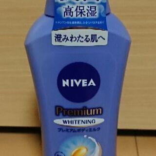 未使用 ニベア プレミアム ボディ  ミルク ホワイトニング