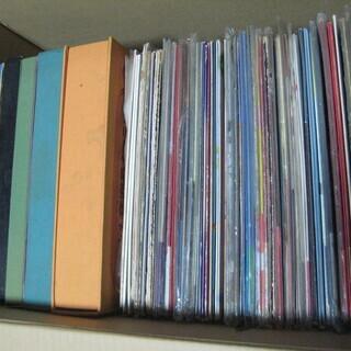 段ボール1箱 アナログLPレコード他 約100枚