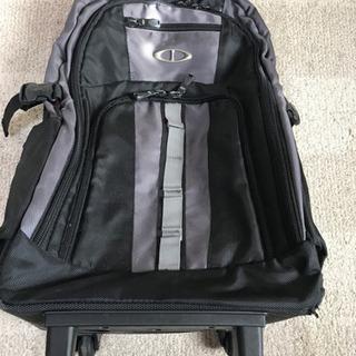 2輪 布製キャリーケース 黒