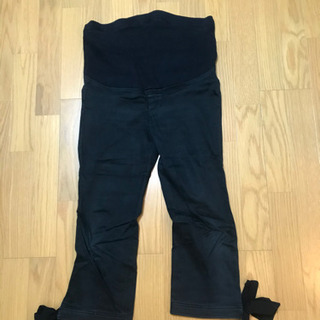 エンジェリーベ マタニティパンツ 黒 サイズ11
