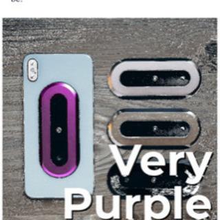 OH SNAP‼︎磁石付き高級携帯スマホリング 紫 日本未発売