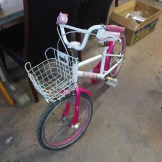 受付終了しました 子供自転車 18インチ