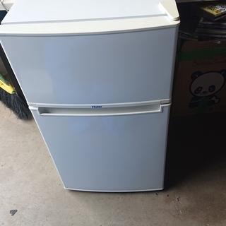 Haier 2ドア 冷凍冷蔵庫 85L JR-N85A ハイアール
