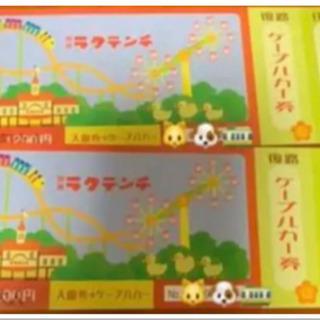 🦆通常2600円🦆ラクテンチ チケット ペア🦆