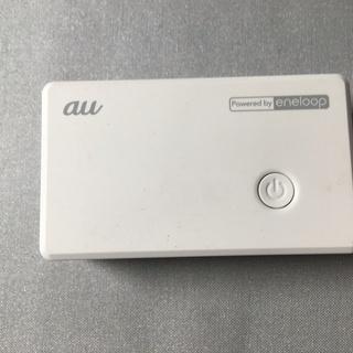 au純正品 eneloopモバイルバッテリー(2500mAh)