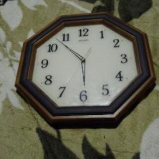 (ジャンク品)SEIKO掛け時計