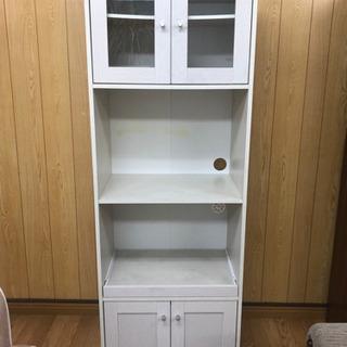 【リサイクルサービス八光 田上店  配達・設置OK】ホワイト ス...