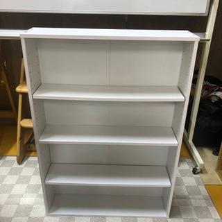 【リサイクルサービス八光 田上店 】ホワイト 4段カラーBOX